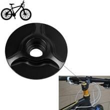 Fiets CNC aluminium fiets Headset Cap(Black)
