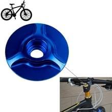 Fiets CNC aluminium fiets Headset Cap(Blue)