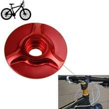 Fiets CNC aluminium fiets Headset Cap(Red)