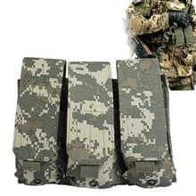 M4 Magazine Compatible Drop Leg Thigh Mounted Pouch met 3 Bags Velcro & Quick Release Buckles