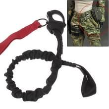 Afgescheiden veiligheid Lanyard riem touw / Quick Release Buckle veiligheid touw / helikopter verzekering Rope(Red)
