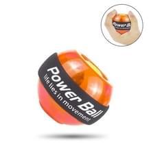 Gyroscopische pols oefening Rotor bal met LED licht voor Fitness Ball(Orange)