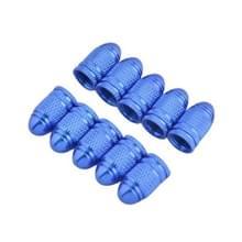 2 stuks fiets aluminiumlegering Tire Valve Caps(Blue)