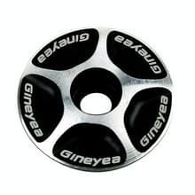 Gineyea fiets CNC aluminium fiets Headset Cap(Black)