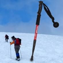 Verstelbare kruk vouwen / Walking Stick met kompas  hoogte: 0.5-1.1 m (willekeurige kleur levering)