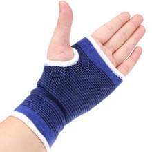 2 stuks hoge elastische sport beschermende Palm sportieve Goods(Blue)