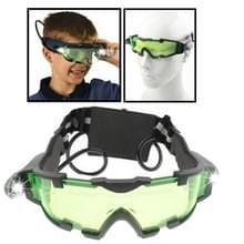 Night Vision Goggles met uitklapbare blauwe LED-verlichting