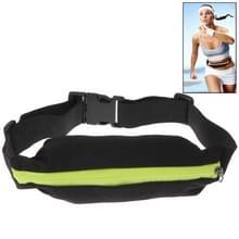 Outdoor Sports Waterdicht Elastic Waist Bag Travel Running Fanny Pack, Bag Size: About 19.5 x 7.5cm(groen)