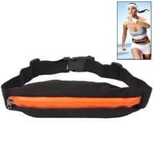 Outdoor Sports Waterdicht Elastic Waist Bag Travel Running Fanny Pack, Bag Size: About 19.5 x 7.5cm(Oranje)
