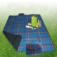 200x150cm buiten strand Camping picknick Mat Blanket(Blue)