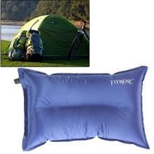 Buiten Camping automatische kussen Camping kussen slaapzak luchtkussen voor leunend op kussen  willekeurige kleur levering