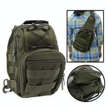 Casual Hard-wearing High Quality Multi-pocket Saddle Bag (Army Green)