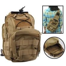 Casual Hard-wearing High Quality Multi-pocket Saddle Bag (bruin)