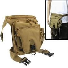 Outdoor Multi-function Motor Pockets / Leg Bag, Brown(bruin)