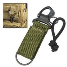 Hoge kwaliteit haak riem sleutelhanger Cool accessoires voor rugzak tas (leger-groen)