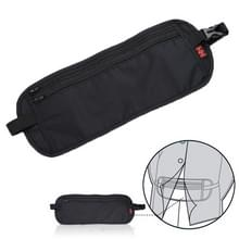 Multifunctionele sluiten-montage anti-diefstal multifunctionele Waist Bag Pack Internality Bag(Black)