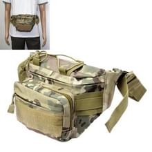 Casual Camouflage patrooned Waist Bag Fanny Pack met Adjustable Band & Zipper Pockets