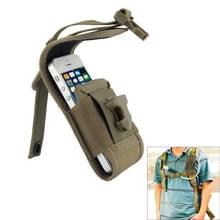 Multi-function Outdoor Pocket Pouch Sleeve Bag, Waist Bag voor iPhone 5 & 5S / iPhone 4 & 4S (Coyote Tan)
