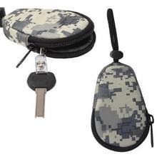 Waterdicht Key Bag Pouch Keychain houder hoesje voor Outdoor Activities (ACU Camouflage)
