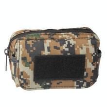 multifunctioneel Accessories Bag Sundries Bags Key Cell Phone Bag Pouch hoesje voor Outdoor Activities (Yellowish Brown)