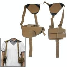Practical & Convenient Nylon Outdoor Military Axillary Holster (Yellowish Brown)