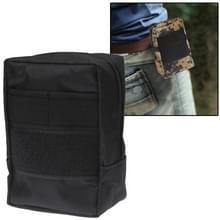 800D Waterdicht Fabrics Waist Bag voor Investigation Tools (zwart)