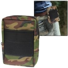 800D Waterdicht Fabrics Waist Bag voor Investigation Tools (Army Green)
