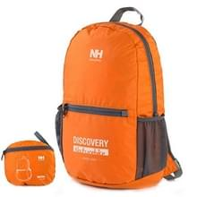 NatureHike Outdoor Camping Hiking Backpack Folding Backpack Knapsack Mountaineering Double Shoulders Bag(Oranje)