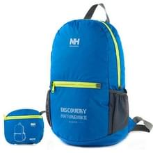 NatureHike Outdoor Camping Hiking Backpack Folding Backpack Knapsack Mountaineering Double Shoulders Bag(blauw)
