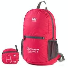 NatureHike Outdoor Camping Hiking Backpack Folding Backpack Knapsack Mountaineering Double Shoulders Bag(hard roze)