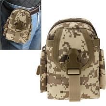 Multifunctionele hoge dichtheid sterk weefsel taille nylontas / Camera Bag / gsm zak, grootte: 9 x 14,5 x 6 cm (Camouflage)
