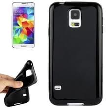Gladde TPU hoesje voor Samsung Galaxy S5 / G900(zwart)