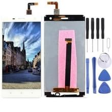 iPartsBuy LCD Screen + Touch Screen Digitizer Assembly for Xiaomi Mi 4(White)