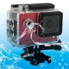 SJ8000 WiFi Novatek 96660 Ultra HD 4K 2.0 inch LCD sport Camcorder met waterdichte geval 170 graden brede hoeklens 30m Waterproof(Red)