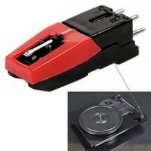 Stereo stylus Naald voor Vinyl LP USB Platenspeler (zwart)