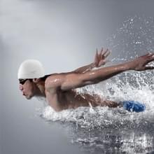 Zuivere kleur stijl elastische siliconen zwemmen Pet / hoed  SC301(White) zwemmen