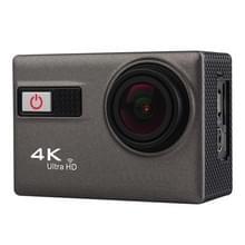 F68R 4K Portable WiFi Waterdichte Sport Camera met afstandsbediening, 2.0 inch scherm, Novatek 96660, 170 A+ graden groothoeklens, waterbestendig tot 30m(grijs)