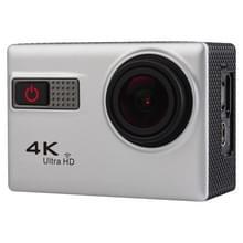 F68R 4K Portable WiFi Waterdichte Sport Camera met afstandsbediening, 2.0 inch scherm, Novatek 96660, 170 A+ graden groothoeklens, waterbestendig tot 30m(zilver)