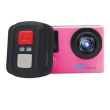 HAMTOD HB6R HD 1080P WiFi Sport Camera met Remote Control & Waterdicht hoesje  Generalplus 4247  2.0 inch LCD Screen  140 Degree Wide Angle Lens(roze)