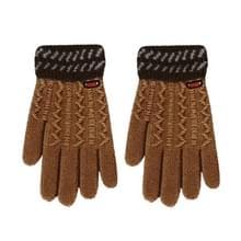 Winterhandschoen kinderen klassieke meisjes jongens Winter Warm Gloves(Ginger)