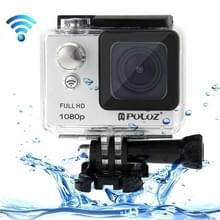PULUZ U6000 Full HD 1080P 2.0 inch LCD scherm WiFi waterdicht Multi-functioneel Sport Action Camcorder, Novatek NT96650 Chipset, 175 graden groothoeklens(grijs)