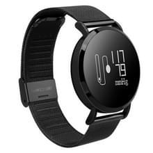CV08 0.95 inch OLED scherm Display Steel Band Bluetooth Smart armband  waterdicht IP67  steun stappenteller / bloeddruk Monitor / Heart Rate Monitor / sedentaire herinnering  compatibel met Android en iOS Phones(Black)