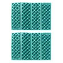 2 PC's Portable Folding cellulaire mobiele telefoons Massage kussen Outdoors vochtige bewijs picknick zetel matten EVA Pad(Green)