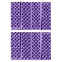 2 PC's Portable Folding cellulaire mobiele telefoons Massage kussen Outdoors vochtige bewijs picknick zetel matten EVA Pad(Purple)
