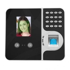 F491 2 8 inch Kleur TFT-scherm Face Vingerafdruk Swipe Extranet Remote Time Attendance Machine