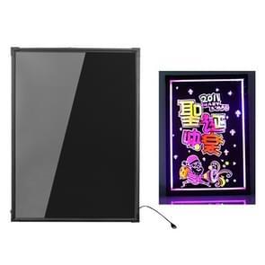 50x70cm elektronische handschrift fluorescerende Board gloeiende reclame Blackboard