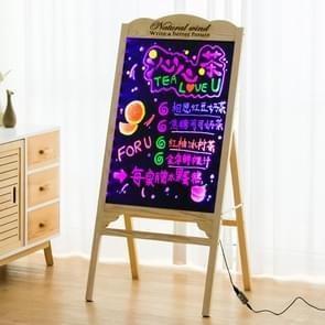 LED Billboard Display Stand Electronic Handwriting Fluorescent Board Blackboard (Hout)