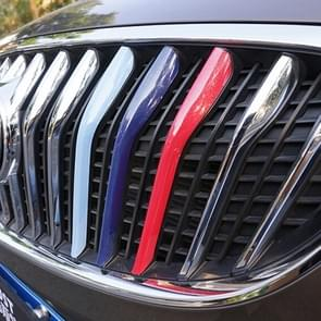 3 delige auto voorgrille kunststof decoratie Strip Front Grill rooster Inserts Cover Strip auto Styling accessoires voor Excelle GT 2009-2014