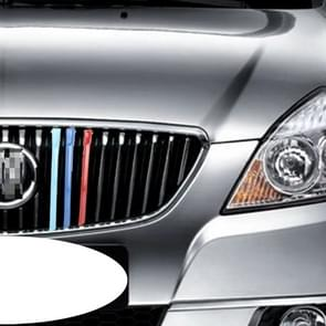 3 PC's auto voorgrille kunststof decoratie Strip Front Grill rooster Inserts Cover Strip auto Styling accessoires voor oude Excelle 2008-2012