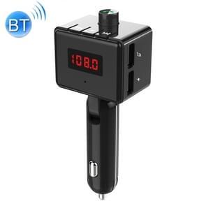 BS6 Dual USB opladen Bluetooth FM-zender draadloze hoofdtelefoon MP3 muziekspeler Car Kit voor mobiele telefoon  ondersteuning Hands-Free Call & micro SD-kaart